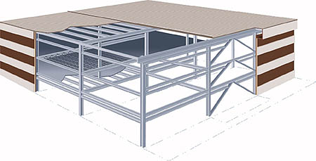 Kalai Steel Structure Multi Story Structural System